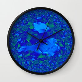 Cluttered Up.... Wall Clock