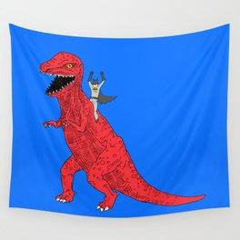 Dinosaur B Forever Wall Tapestry