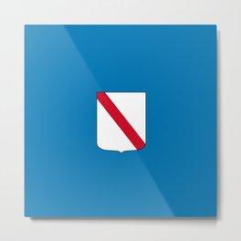 flag of campania Metal Print
