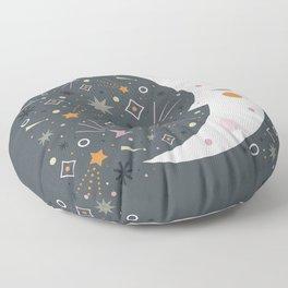 Mr Moon Floor Pillow