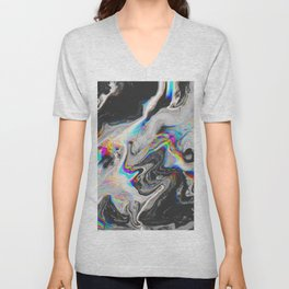 CONFUSION IN HER EYES THAT SAYS IT ALL Unisex V-Neck