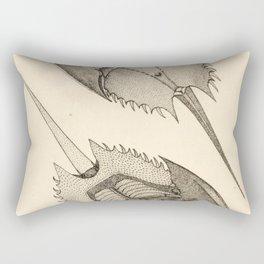 Horseshoe Crabs Rectangular Pillow