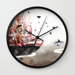 Elegua Ashe Wall Clock