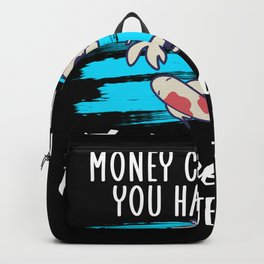 Fishkeeping can make you happy Backpack