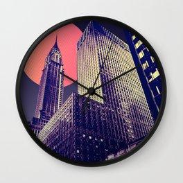 NYC MOON Wall Clock