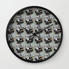 Lock Up  Wall Clock