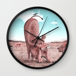 Royalty - Julien Tabet - Photoshop Artwork Wall Clock