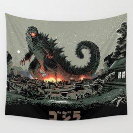 Godzilla - Gray Edition Wandbehang