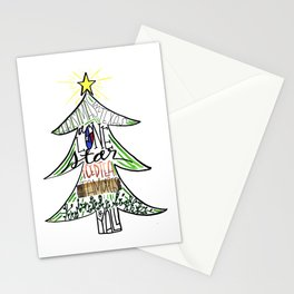 Christmas in Texas Stationery Cards