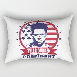 Tyler Durden For President Rectangular Pillow