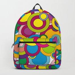 Pop Art Polka Dots Backpack