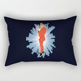 Austin is back Rectangular Pillow