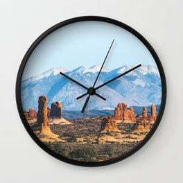 Landforms Wall Clock