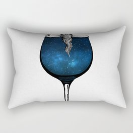 Wine night. Rectangular Pillow