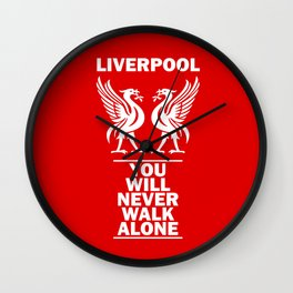 Slogan: Liverpool Wall Clock