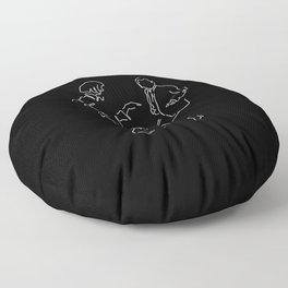 I want to dance Floor Pillow