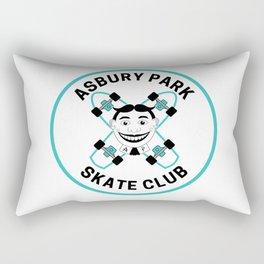 Vintage Asbury Park Skate Club Rectangular Pillow