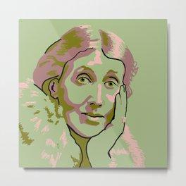 Virginia Woolf Metal Print