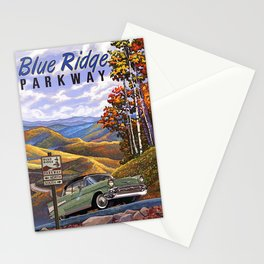 Blue Ridge Parkway 1955 Stationery Cards