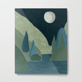 Mountain River #3 Metal Print
