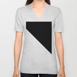 WHITE\BLACK Unisex V-Neck