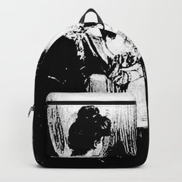 All Is Vanity: Halloween Life, Death, and Existence Backpack