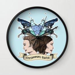 FitzSimmons Biatch Wall Clock