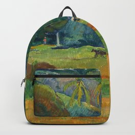 "Paul Gauguin ""Le vallon"" Backpack"