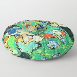 Pablo Picasso - Children in the Luxembourg Gardens - Digital Remastered Edition Floor Pillow