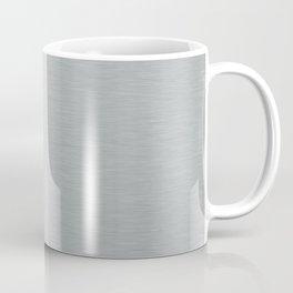 Aluminum Brushed Metal Coffee Mug