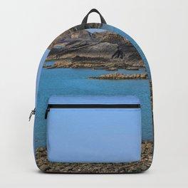 Devon Coastline. Backpack
