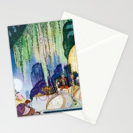 Kay Nielsen - Felicia Looks At The Queen Of The Forest Stationery Cards