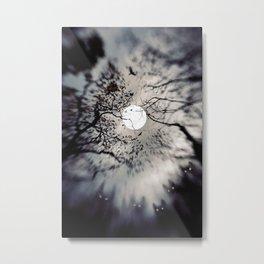 Curse of the full moon Metal Print