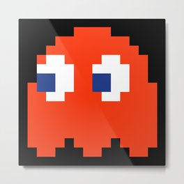 8-Bits & Pieces - Blinky Metal Print