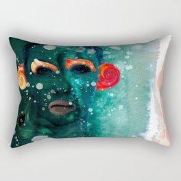 weird as fuck Rectangular Pillow