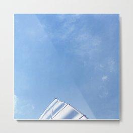 Frank Gehry - Shark fin Metal Print