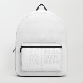 Real Men Have Bypass Surgery Heart Gift Backpack