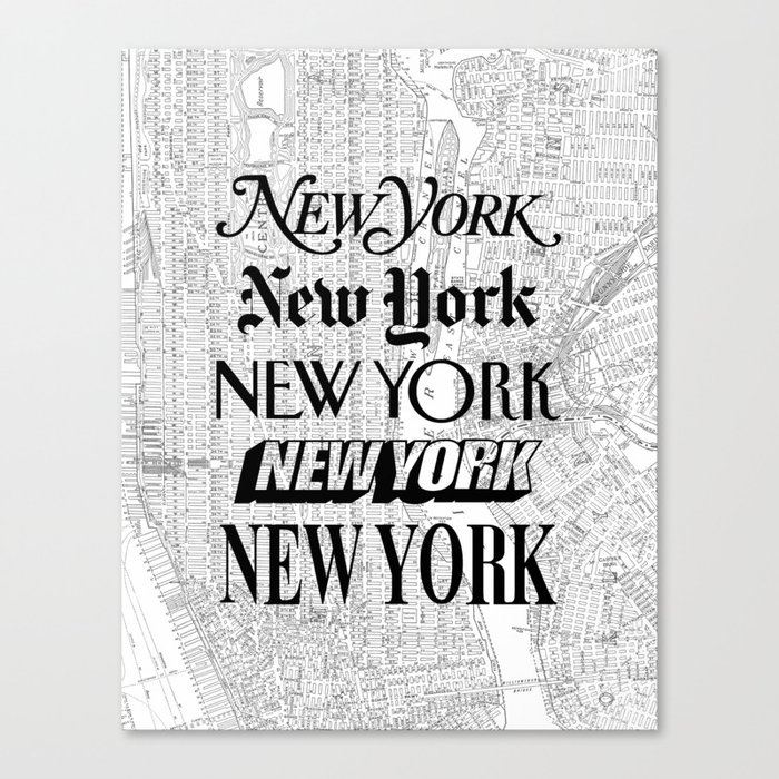 New York City black and white New York poster I love heart NYC Design black-white home wall decor Leinwanddruck