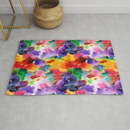 Floral Pattern 13 Rug