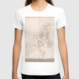 Johann Bayer - Uranometria / Measuring the Heavens (1661) - 11 Perseus T-shirt