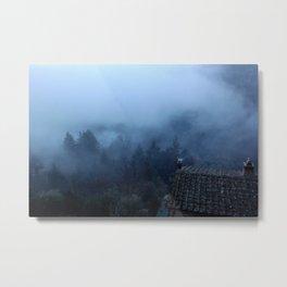 Tuscany Fog Metal Print