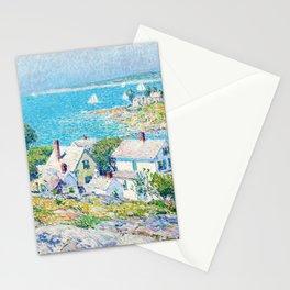 Frederick Childe Hassam - New England Headlands - Digital Remastered Edition Stationery Cards