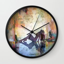 Sunrise Chillout Wall Clock