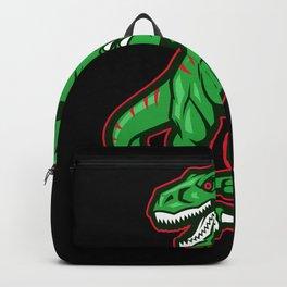 Carnivorous Dinosaur Gift Design Backpack