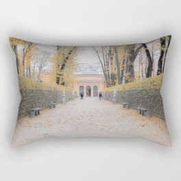 Autumn walk Rectangular Pillow