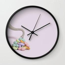 Colorful peanuts Wall Clock