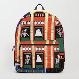 Haunted house - Halloween  Backpack