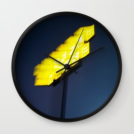Road Trippin Wall Clock