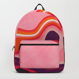 liquid shapes Backpack