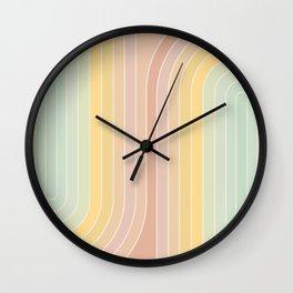 Gradient Curvature II Wall Clock